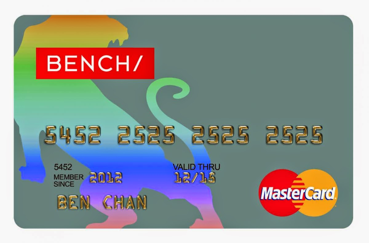 Bench Master Card