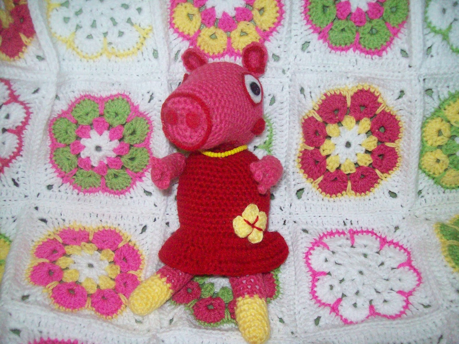 Peppa Pig Knitting Patterns : Free Crochet Patterns By Cats-Rockin-Crochet