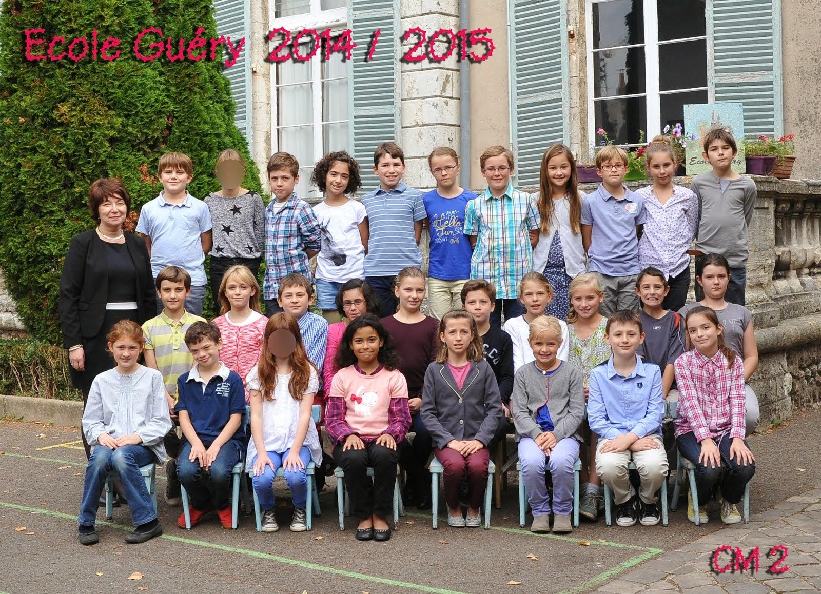 Classe de CM2 année 2014-2015