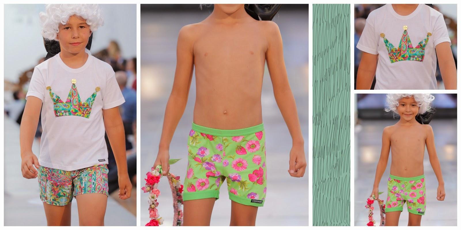 moda baño kids niños canarias fashion week
