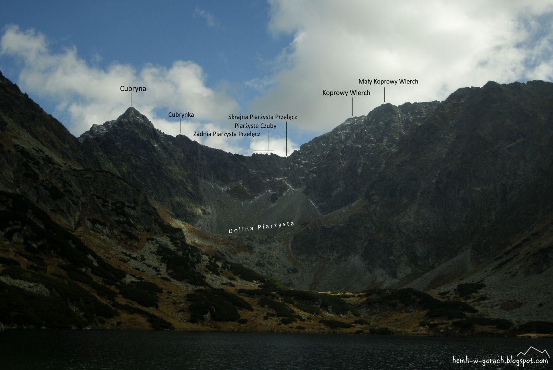 panorama z Doliny Ciemnosmreczyńskiej