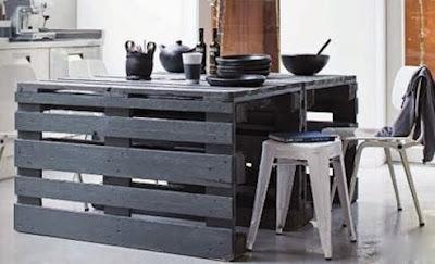 déco-récupération-palette-table-de-cuisine-fait-main