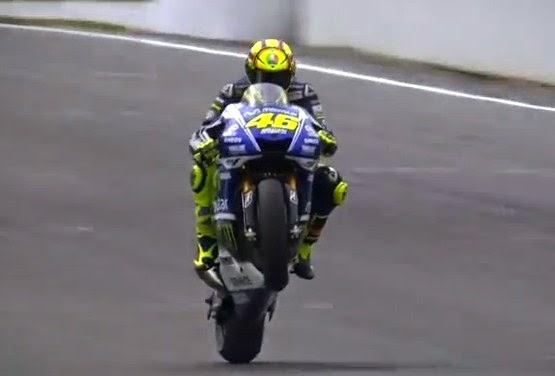 Rossi Harus Puas di Posisi Kedua, Setelah Kalah Duel dengan Marc Marquez