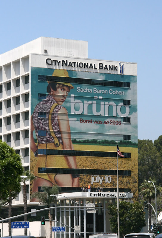 Giant Bruno movie billboard