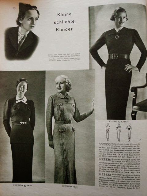 petit main sauvage: 1930\'s fashion photographs