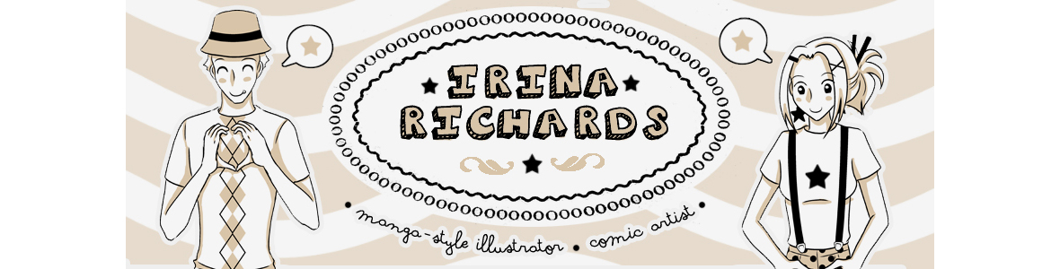 Irina Richards - Manga illustrator/Comic artist