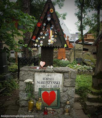 Cmentarz na Pęksowym Brzyzku, Pęksowe Brzyzko, Kornel Makuszyński, Pęksowe Brzysko, cmentarz zakopane, Stary cmentarz, stary cmentarz zakopane
