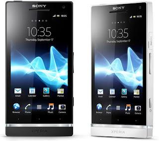 Sony Xperia S ominaisuudet