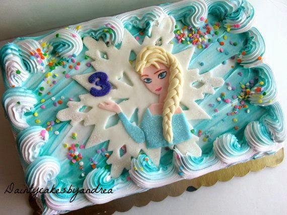 elenasprinciples The best Frozen Elsa cake topper on Pinterest
