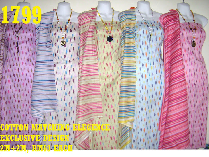 CME 1799: COTTON MATCHING ELEGENCE, EXCLUSIVE DESIGN, 2M+2M, 5 COLORS