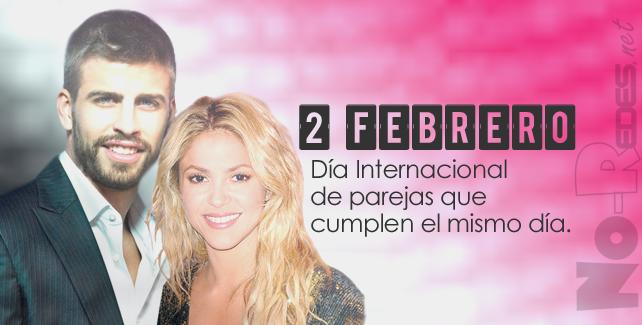 El 2 de febrero, nacen Gerad #Piqué y #Shakira.