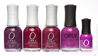 Orly Plum Noir Orly Thorned Rose Orly Perfectly Plum  Orly Off Beat Orly Hype