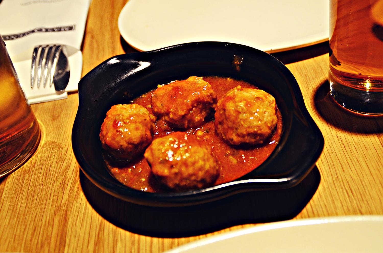 Spanish Meatballs, Mas Q Menos, Holborn, London