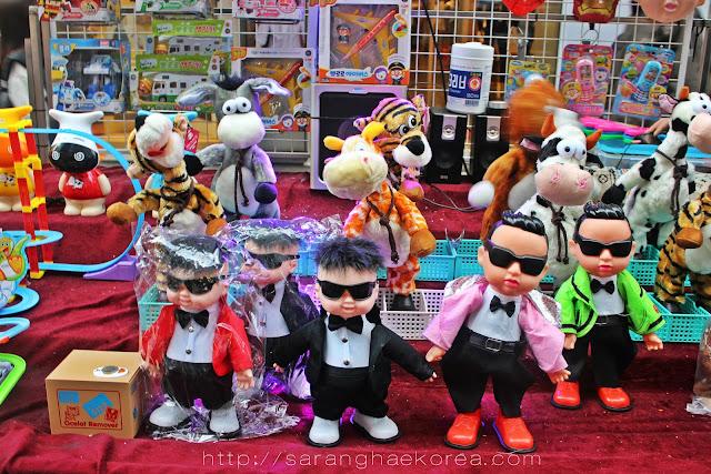 Korean stuff toys