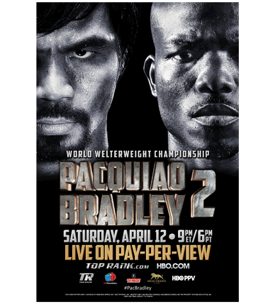 Manny Pacquiao vs Tim Bradley Live Stream Boxing HBO PPV