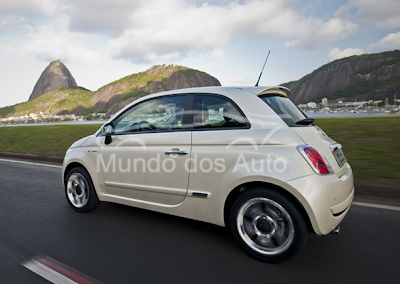 Fiat chega a cem mil unidades vendidas do 500