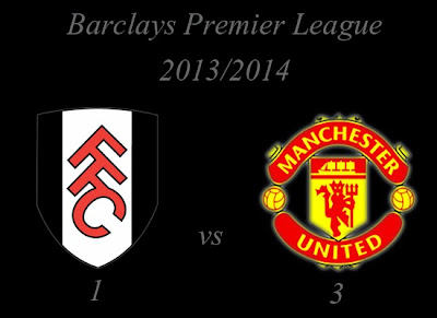 Manchester United v Fulham Result November 2013