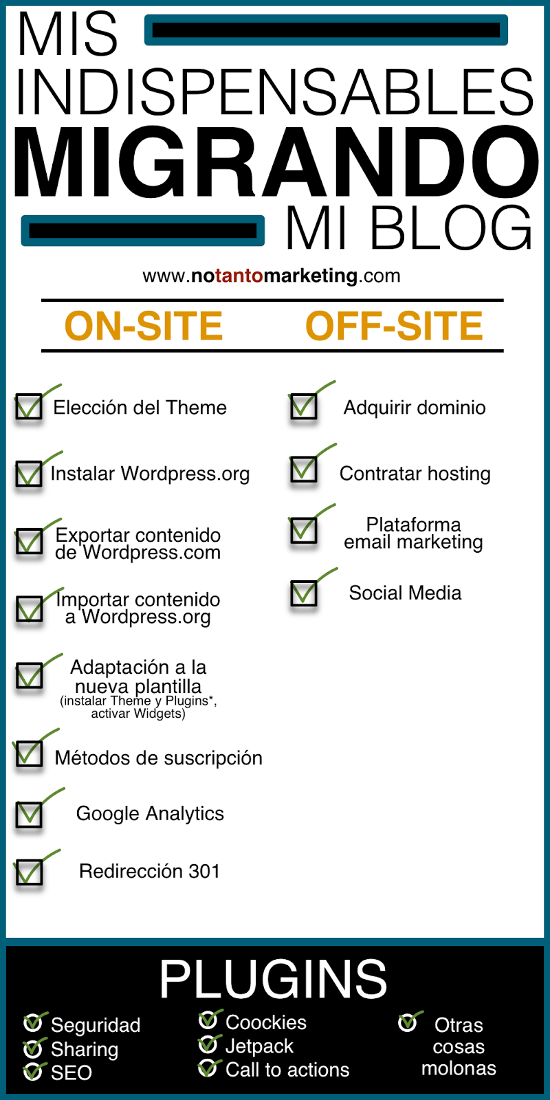 Notantomarketing.com - Migrando el blog