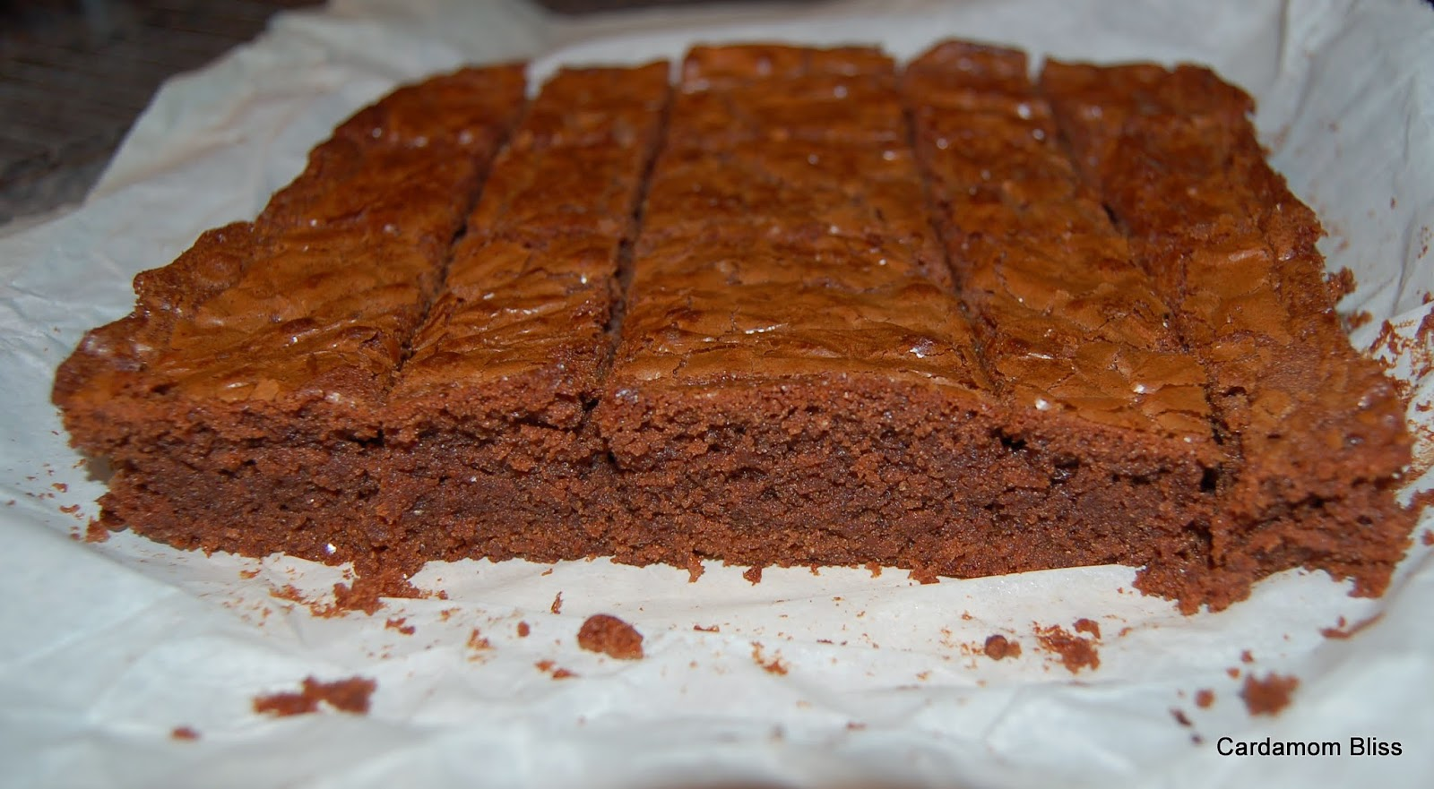 Jaggery Nutella Brownies