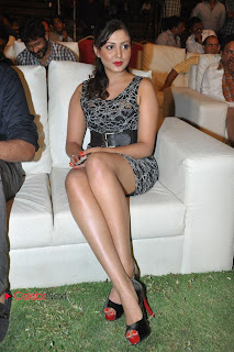 Madhu Shalini  Pictures in Mini Dress at DK Bose Audio Release Function  0033.jpg