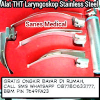 Alat THT Laryngoskop Stainless Steel Sanes Medical