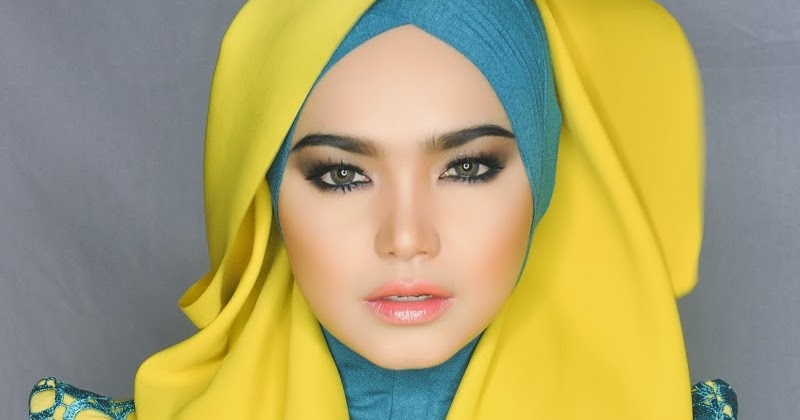 Model Hijab Casual And Trendy Hijab Style Artis Cantik Siti Nurhaliza