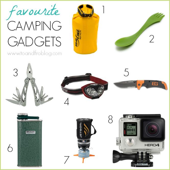 favorite camping gadgets