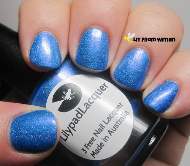 Lilypad Lacquer Violet Moon