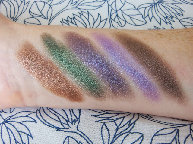 Urban Decay Vice 2 palette third row swatches