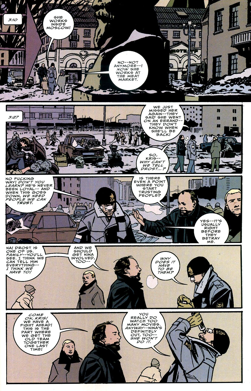 Read online The Winter Men comic -  Issue #4 - 14