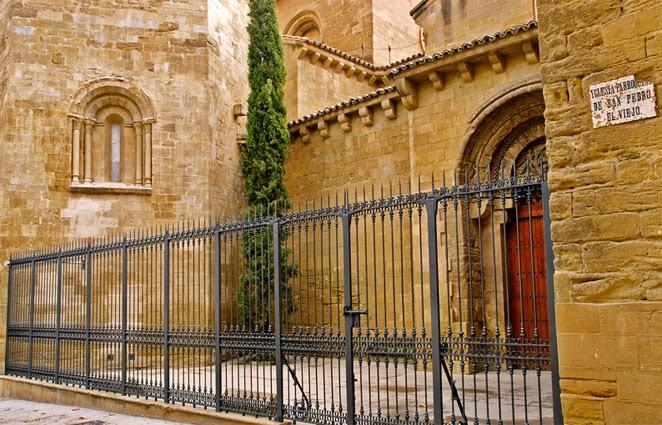 Huesca rutas y lugares iglesia de san pedro el viejo de huesca - Casa rufino bolea ...