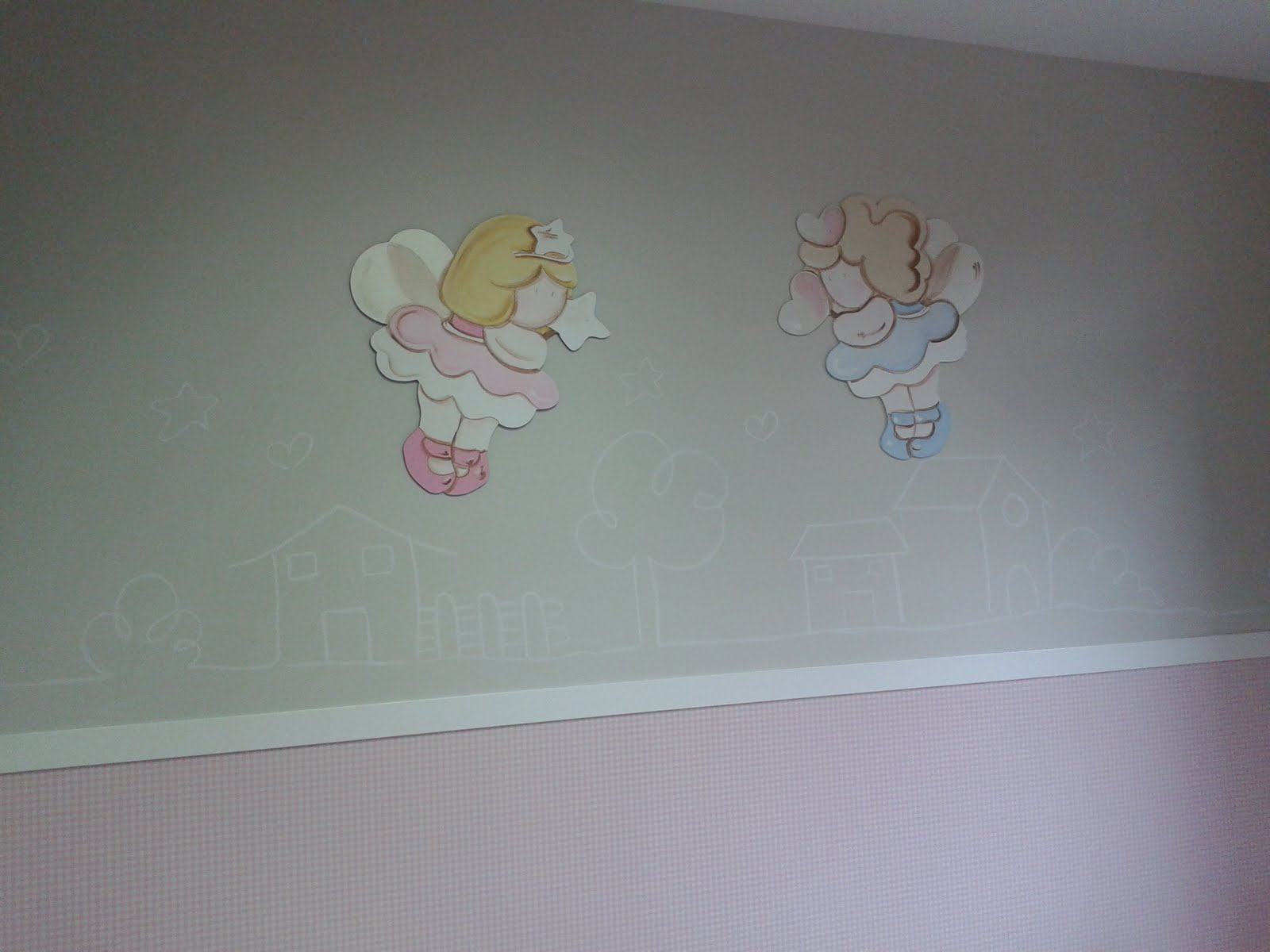 Papier peint chambre bebe fille - Papier peint chambre bebe fille ...