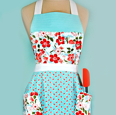 Or get free patterns for making vintage-looking kitchen stuff