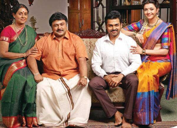 Karthi's film All in All Azhaguraja Latest Stills