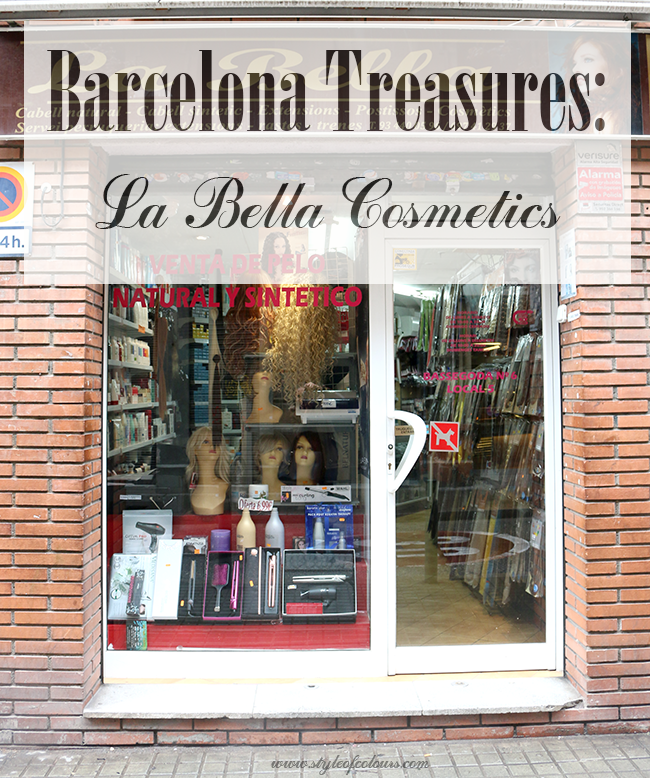 Barcelona Treasures - La Bella Cosmetics