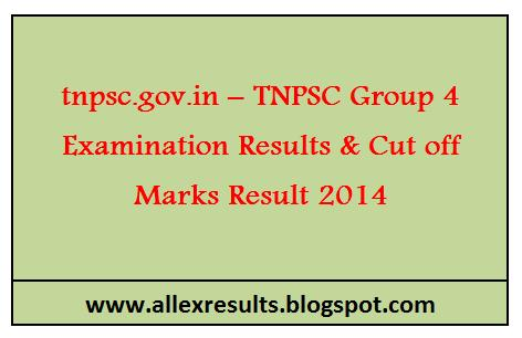 Tnpsc group 4 result 2013