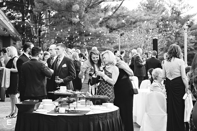 The Sagamore Wedding - Lake George, NY - Flowers - Cocktail Hour - Cafe Lights