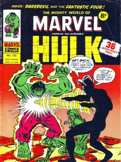 Mighty World of Marvel #132, Hulk vs Havok