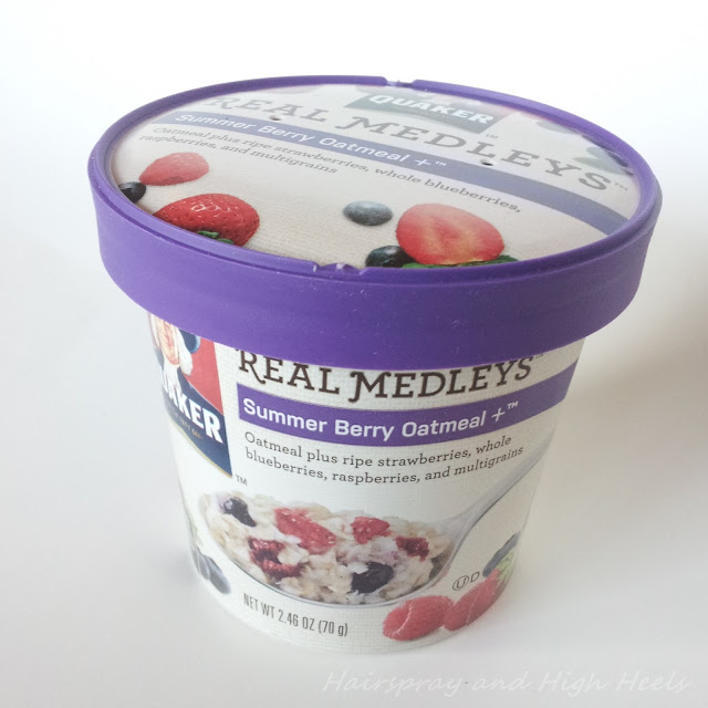 Berry Medleys Oatmeal 