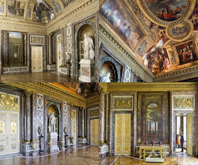 This is versailles salon of venus for A different angle salon