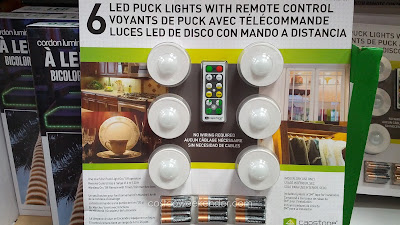 Capstone LED Puck Lights  – Instant LED lighting without the hassle of wiring