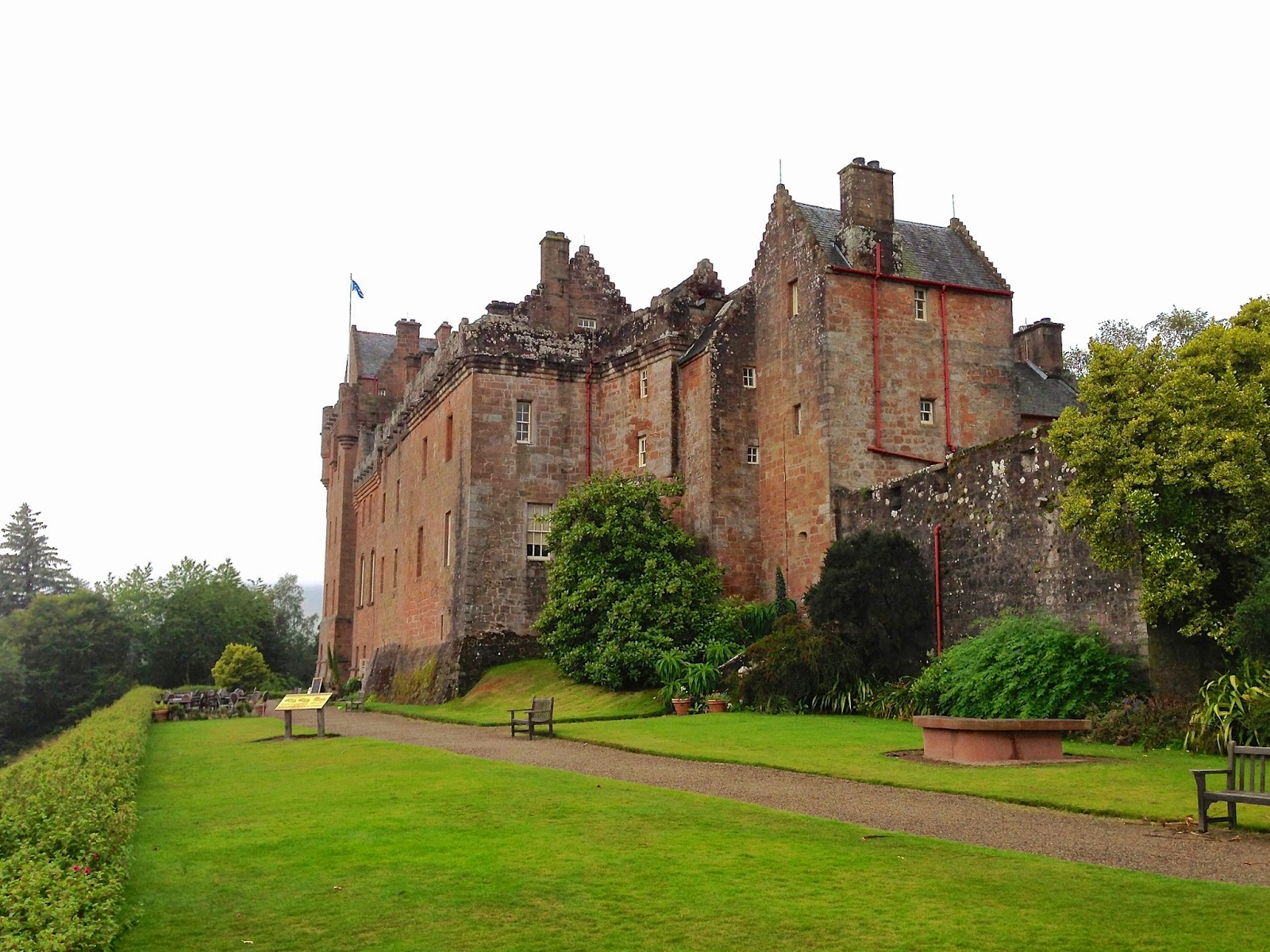 Brodick Castle on the Isle of Arran