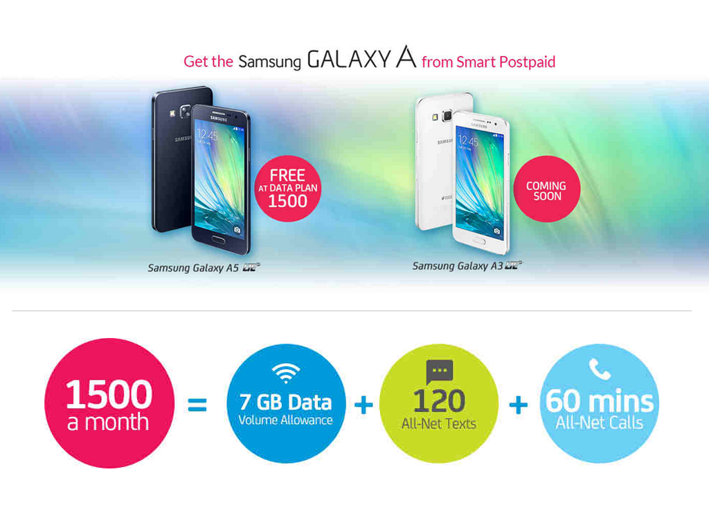 Samsung Galaxy A5 Is FREE At Data Plan 1500!