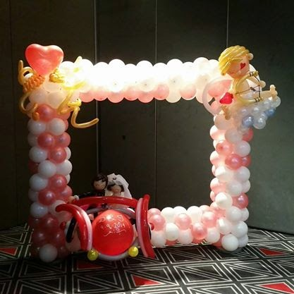 customise balloon photo frame