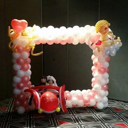 customise balloon photo frame
