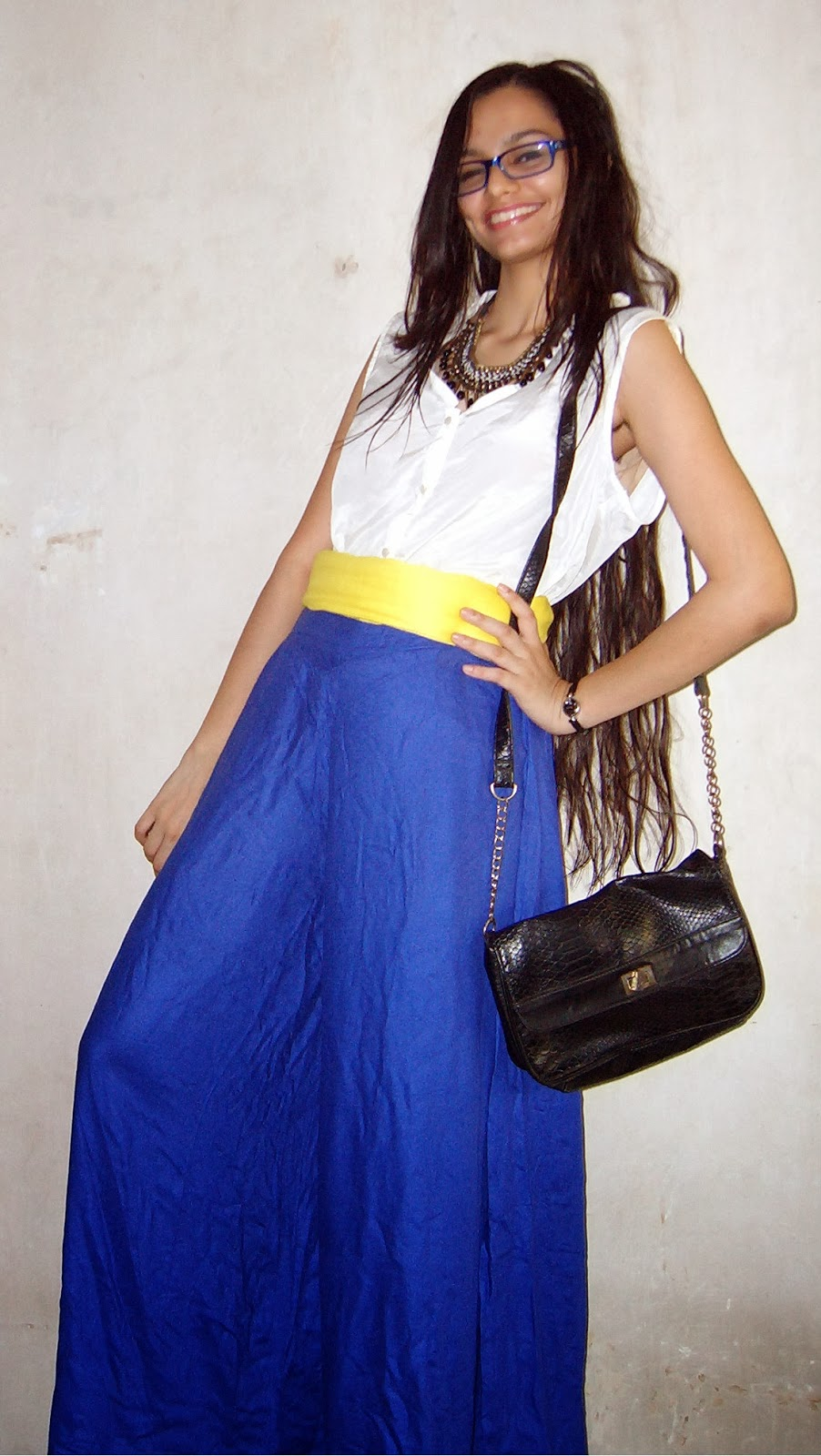 colaba causeway shopping, street shopping, look for less, how to wear palazzos pants