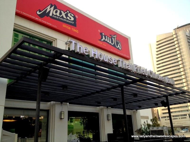 Max's Restaurant in Karama Dubai