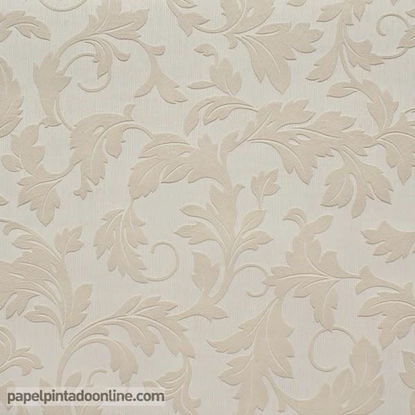 Papel pintado papel pintado low cost modelo victoria for Papel pintado beige