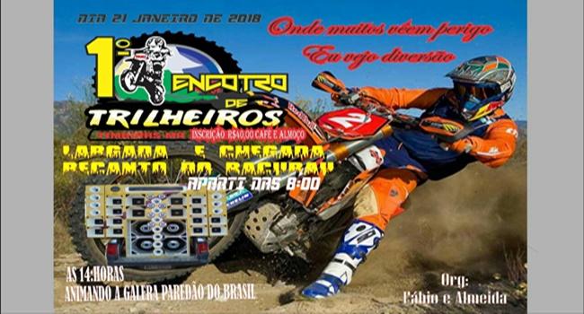 1º ENCONTRO DE TRILHEIROS EM TIMBIRAS MA, VENHA PARTICIPAR... ORG: FÁBIO E ALMEIDA. WHAT 98131 0820