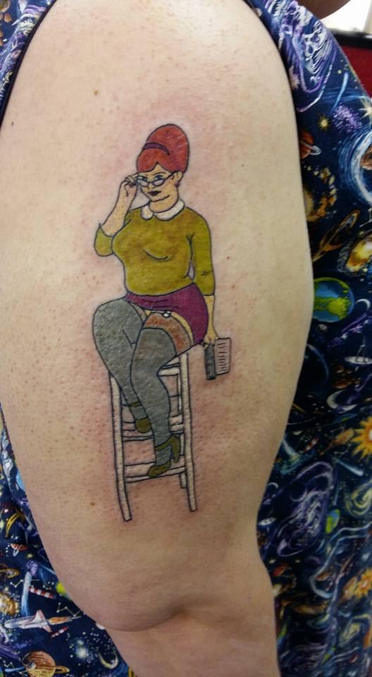 tattoo Fat girl pin up